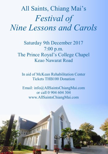 Nine Lessons and Carols 2017 Poster (Publisher)