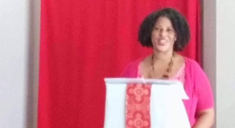 Christa Preaching