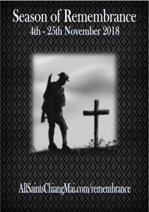 Season of Remembrance 2018